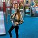 Girl Posing at Playground towards the Camera