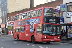 AL VLA134 @ Hainault Street, Ilford (ianjpoole) Tags: arriva london volvo b7tl alexander alx400 lj05gpz vla134 working route 128 romford train station claybury broadway