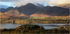 The View (mandysp8) Tags: thelakedistrict uk england autumn river mountains clouds trees fells derwentwater skiddaw canon eos 750d cumbria nationaltrust nationalpark
