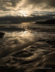 Sunset over Caswell Bay 2019 01 25 #2 (Gareth Lovering Photography 5,000,061) Tags: sunset sun sunny sunshine caswell gowercoast gower swansea wales seaside landscape beach walescostalpath olympus penf garethloveringphotography