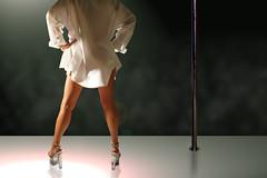 stripper club (djetteelfe) Tags: stripper dancer legs long sexy night club dance beautiful woman female girl beauty erotic performer strip body attractive heels high stage hot exotic pretty seductive white shirt pole unitedstatesofamerica