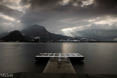Hors saison (paul.porral) Tags: longexposure poselongue lake lacannecy flickr ngc landscape landschaft nature naturephotography water winter countryside outside canon 7d annecy alps