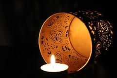 Golden (Argyro Poursanidou) Tags: golden candle light still life gold flickrfriday