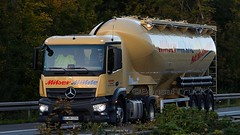 D - Milser Mühle MB Antos (BonsaiTruck) Tags: spitzer milser mühle mb antos lkw lastwagen lastzug silozug truck trucks lorry lorries camion camiones caminhoes silo bulk citerne powdertank