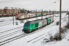 475409 at Somain (robmcrorie) Tags: somain yard france nord north marshalling shunting bb 475000 sncf snow nikon d850 train rail railway railfan loco