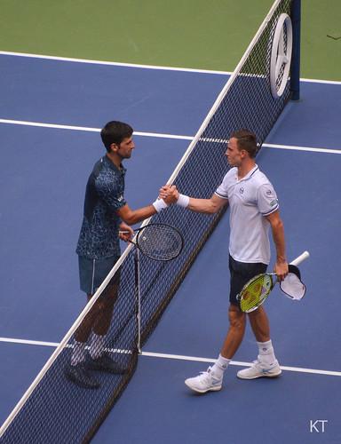 Novak Djokovic - Novak Djokovic & Marton Fucsovics