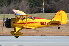 N63WC - Waco YMF (AndrewC75) Tags: airplane aircraft airport aviation waco ymf biplane sightseeing tour dekalb peachtree private plane georgia