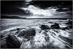 Killcare Black Rocks (GTV6FLETCH) Tags: killcarebeach centralcoast nswcentralcoast nsw australia beach bw blackandwhite monochrome mono canon canoneos5dsr canon5dsr 5dsr ef1635mmf4lisusm canonef1635mmf4lis