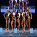Bikini True Novice 4th Voit 2nd Kasprick 1st Nickel 3rd Dowie 5th Vasylysyna