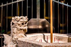 The Incense Watcher (jeremy_d_smith) Tags: fuji fujifilm fujixseries fujinon fujilove fujixpro1 fujixf27mm incense taiwan kaohsiung fengshan taiwantourism takeawalk urban
