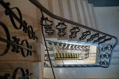 Perspective (Howie Mudge LRPS BPE1*) Tags: steps rails perspective aberystwyth museum ceredigion wales cymru uk travel nikon nikond500 d500 sigma1750mmf28os