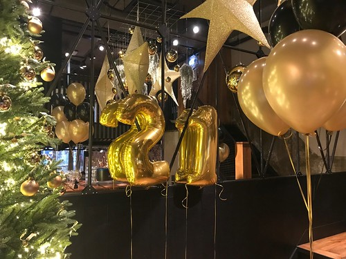 Folieballon Cijfer 21 Cafe in the City Rotterdam