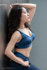 Sapphire (Francis.Ho) Tags: sapphire xt2 fujifilm girl woman female femme lady portrait people beauty pretty lips eyes hair face chinese model elegant glamour young sensuality fashion naturallight cute goddess asian daylight sunlight outdoor ngerie studio body sexy