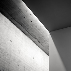 light & shade (fhenkemeyer) Tags: shadow light concrete beton minimalistic abstract museum architecture düsseldorf kunstimtunnel kit