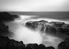 Queen's Bath (Eddie 11uisma) Tags: kauai hawaii queens bath black white bw landscapes