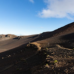 Path Mount Haleakala Maui Hawaii Pano thumbnail