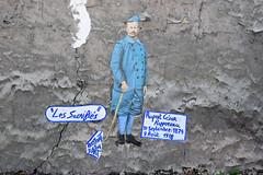 Les Sacrifiés (HBA_JIJO) Tags: streetart urban paris france wall mur collage pasteup wheatpaste paper mural war urbain papier