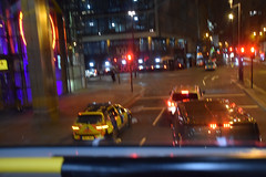 DSC_2657 City of London Bus Route #135 Early Morning Bishopsgate Samba Restaurant Police Eco Interceptor Police Car CP17 hybrid Volkswagen Golf GTE. (photographer695) Tags: city london bus route 135 early morning bishopsgate samba restaurant police eco interceptor car cp17 hybrid volkswagen golf gte