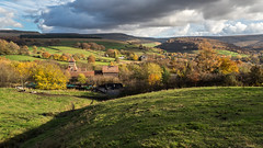 Derbyshire autumn (Maria-H) Tags: view hills glossop highpeak peakdistrict derbyshire uk olympus omdem1markii panasonic 1235
