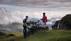 Strength (Elkin Vallejo) Tags: mountains mount cycling bike mountainbike riders clouds cloudscape nariño colombia montañas monte ciclismo bicicleta bicicletademontaña corredores ciclistas nubes paisajedenubes