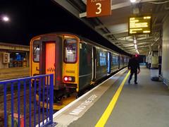 150202 Plymouth (2) (Marky7890) Tags: gwr 150202 class150 sprinter 2p94 plymouth railway devon devonmainline train