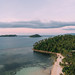 Overlooking small islands at Punta Bulata