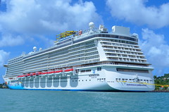 Back to the Ship (Neal D) Tags: saintlucia ship cruiseship castries port norwegianbreakaway ncl norwegiancruiseline