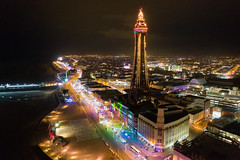 Blackpool Illuminations 2018 (scrappy nw) Tags: blackpoolilluminations blackpool illuminations tower blackpooltower lights irishsea sea seaside night lancashire dji djimavicpro djimavic2pro mavic2pro drone mavicpro