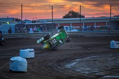 Sideways (Brad Prudhon) Tags: 2018 blackcanyonspeedway emmett idaho motorsports race september track gokart outlaw racing