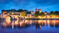 _DSC0810 - Avignon classic (AlexDROP) Tags: 2018 europe avignon provence france art travel skyline architecture cathedral church color castle cityscape bluehour longexposure nikond750 afsnikkor28300mmf3556gedvr best iconic famous mustsee picturesque postcard hdr river