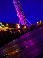 Glow on the Port (dk_studio_) Tags: seattle neon city colorful night water