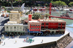 """Lego San Francisco in Miniland at Legoland California • <a style=""""font-size:0.8em;"""" href=""""http://www.flickr.com/photos/28558260@N04/45391619585/"""" target=""""_blank"""">View on Flickr</a>"""