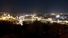 Danube by Night (RobW_) Tags: river view budapest hungary amaviola danube 16nov2018 november 2018