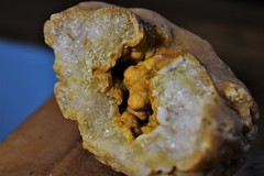 Geode (Isaac's Fishing Corner) Tags: geode crystal crystals mineral rock hound hounding