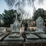 MOUNT JEROME CEMETERY IN HAROLD'S CROSS [ PHOTOGRAPHED USING A 15 YEAR OLD ADAPTED 12-24mm SIGMA LENS]-146220 thumbnail