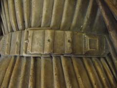 ca. 1400 - 'John de Oteswich (+ca. 1400) & wife Mary', former St. Martin Outwich Church, London, St. Helen's Church, Bishopsgate, London, England (roelipilami (Roel Renmans)) Tags: ca 1400 john de oteswich outwich mary wife church monument effigy london gisant dagger misericorde helen st bishopsgate londres londen kerk église grafbeeld grabmal martin kirche denkmal grafmonument belt dolch misericordia 1395 1405 houppelande houppeland hopelanda sculpture international gothic gothique gotica iglesia