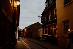 Water St, Richmond at early evening