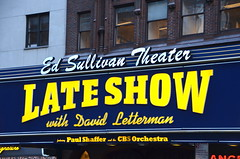 Ed Sullivan Theater (afagen) Tags: newyork newyorkcity ny nyc manhattan broadway edsullivantheater theater marquee lateshowwithdavidletterman lateshow