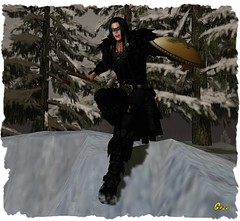Valhalla Series ~ No More (0rco) Tags: wolf winter warrior viking valhalla secondlife rp roleplay fantasy forest