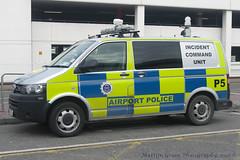 Dublin Airport Police (Martijn Groen) Tags: dublin dublinairport ireland europe march 2018 police policecar lawenforcement emergency airportpolice incidentcommandunit p5 volkswagen vw volkswagent6 t6 transporter