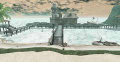 Down By The Sea (Reaghan Resident) Tags: kazza nevertotallydead tlc homeandgarden homedecor secondlife landscape cosmopolitan event beach tuff
