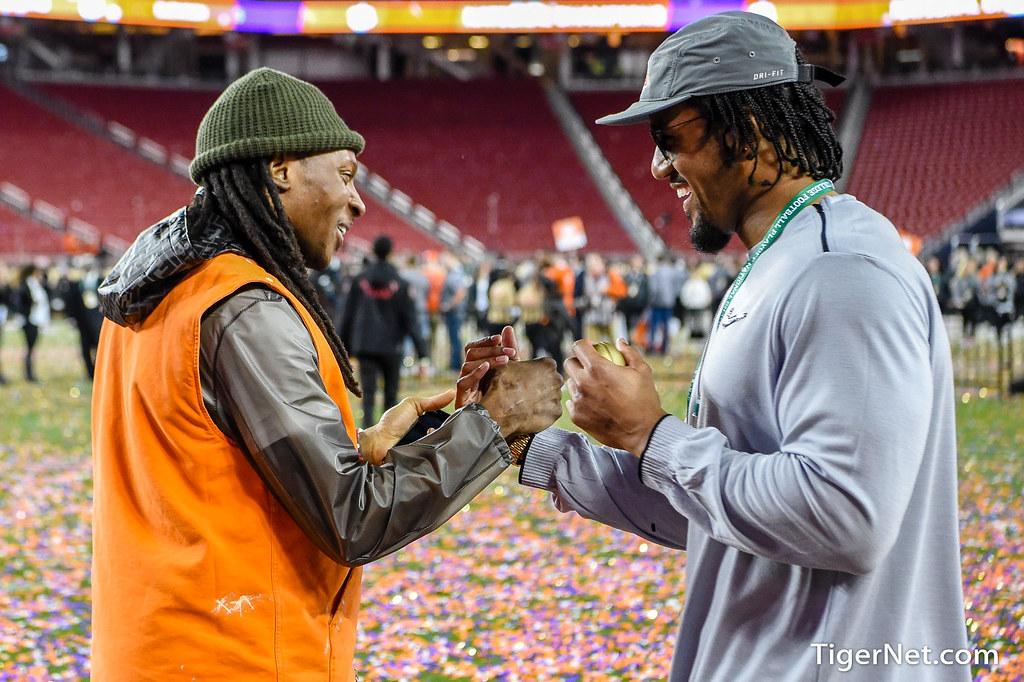 Clemson Photos: De Andre  Hopkins, Vic  Beasley, 2018, Football, alabama