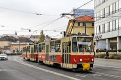 BTS_7943_201811 (Tram Photos) Tags: ckd tatra t6a5 bratislava dopravnýpodnikbratislava dpb strasenbahn tram tramway električková mhd električka