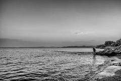 13072018-DSCF9117-Redigera-2 (Ringela) Tags: blackandwhite beach plage saintraphaël juli 2018 france fujifilm xt1 landscape fréjus var côtedazur