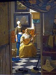 The love letter / Johannes Vermeer (Beyond the grave) Tags: art painting amsterdam rijksmuseum netherlands holland vermeerjohannes johannesvermeer