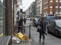 20190115T14-47-22Z (fitzrovialitter) Tags: england gbr geo:lat=5151636000 geo:lon=014086000 geotagged oxfordcircus unitedkingdom peterfoster fitzrovialitter city camden westminster streets urban street environment london fitzrovia streetphotography documentary authenticstreet reportage photojournalism editorial daybyday journal diary captureone olympusem1markii mzuiko 1240mmpro microfourthirds mft m43 μ43 μft ultragpslogger geosetter exiftool rubbish litter dumping flytipping trash garbage