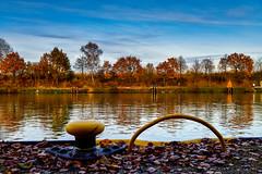 Schiffsanleger (hermelin52) Tags: deutschland nrw ruhrgebiet henrichenburg herbst indiensummer autum schiffsanleger kanal schifffahrt waltrop datteln oberwiese wasser gewässer germany
