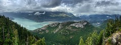 Stawamus Chief Outlook Viewpoint (simonmgc) Tags: britishcolumbia canada howesound panorama squamish stawamuschief