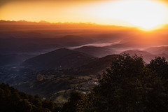 Sunrise view from Nagarkot, Nepal (CamelKW) Tags: tibet2018 sunrise nagarkot nepal bagmatizone np