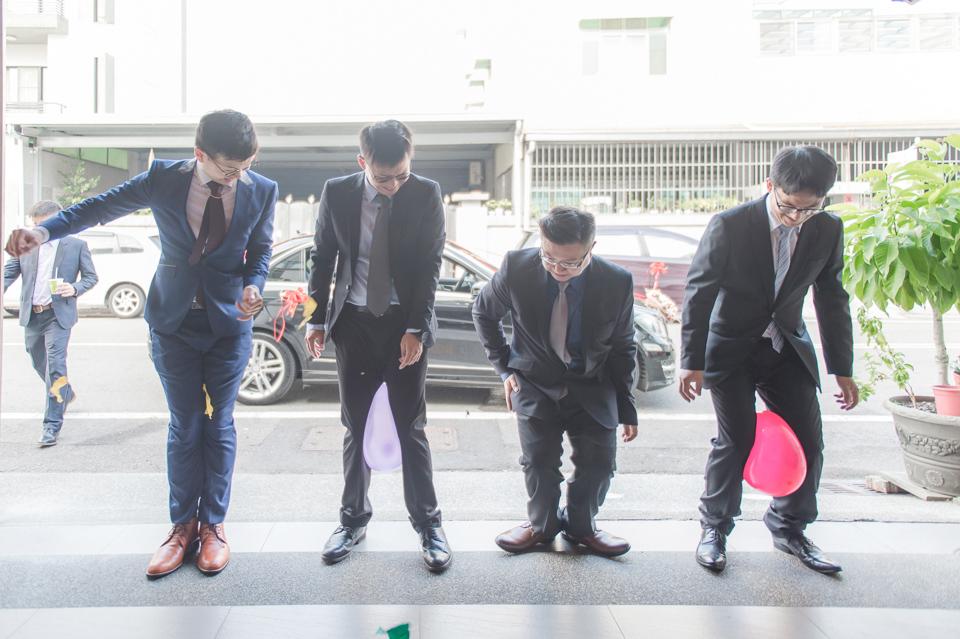 台南東東宴會式場 婚宴 走在幸福的紅毯上 R & B 031